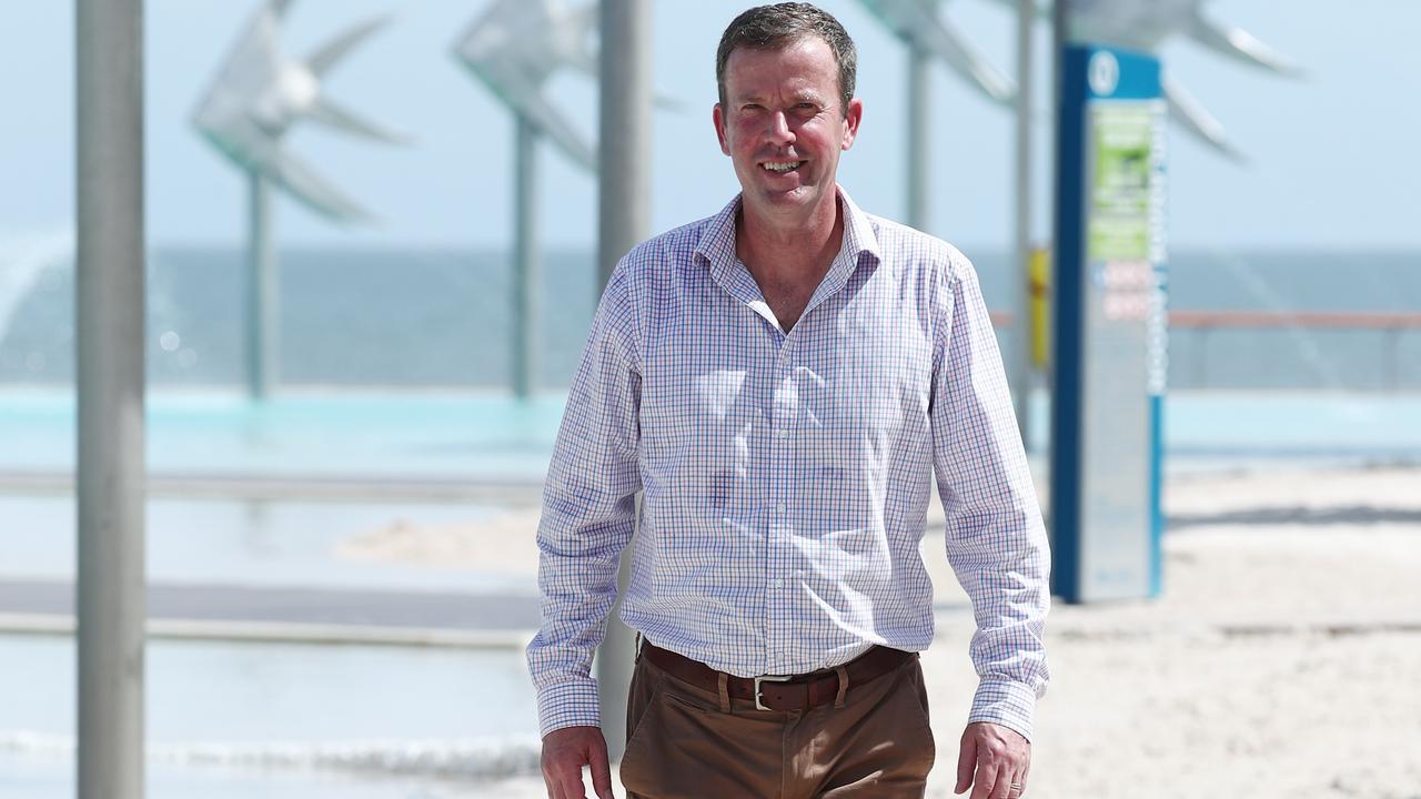 Federal Tourism Minister Dan Tehan. Picture: Brendan Radke