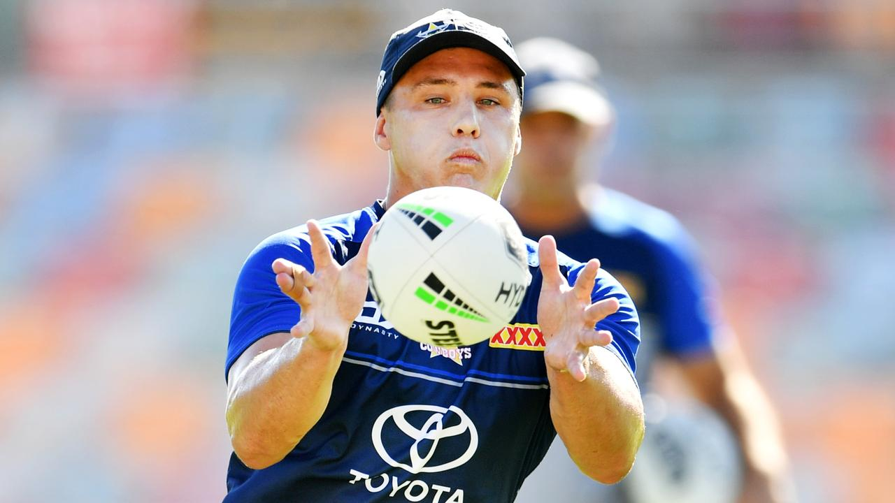 Cowboys playmaker Scott Drinkwater is on the Broncos' radar. Picture: Alix Sweeney