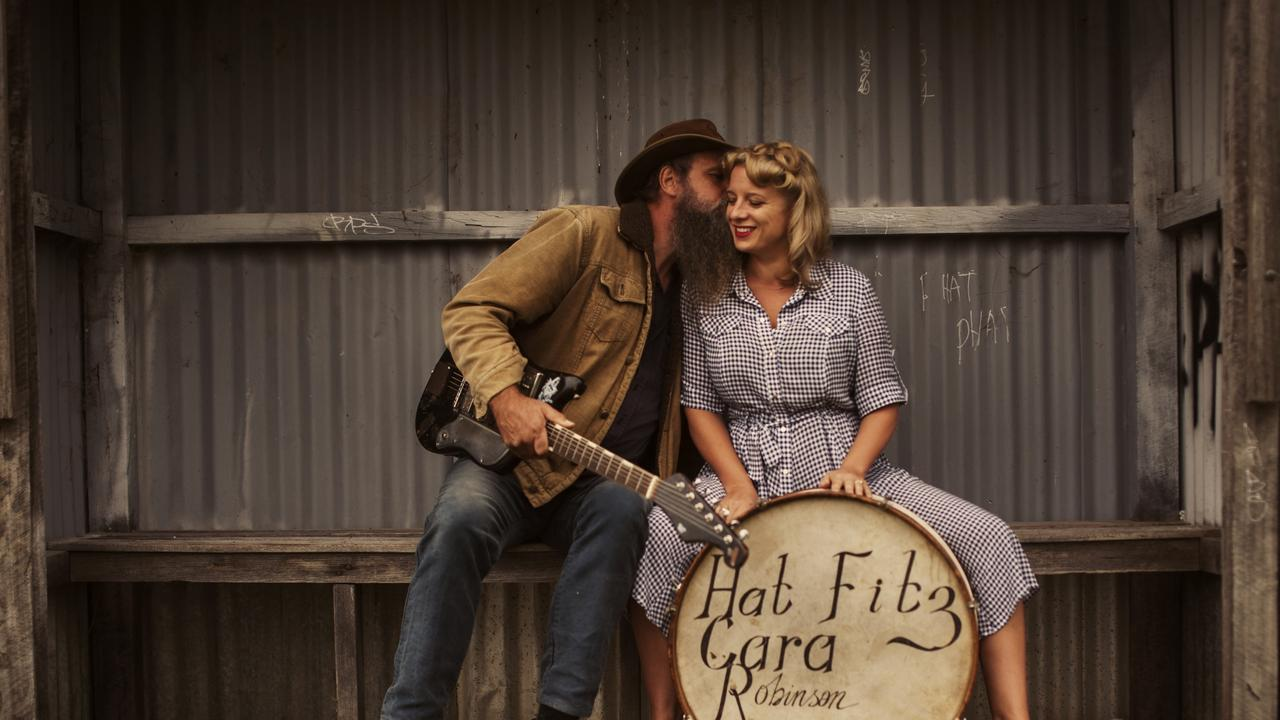 LOCAL ACTS: Aussie duo Hat Fitz and Cara will perform at this year's Agnes Blues, Roots and Rock Festival.