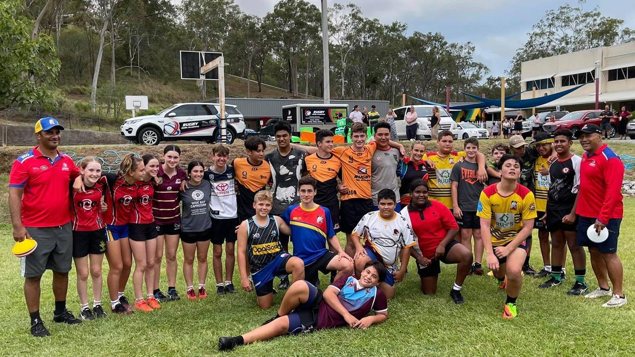 Onèhunga 'Onè' Mata'uiau said he saw a huge need to develop the rugby union skills of juniors in regional Queensland.