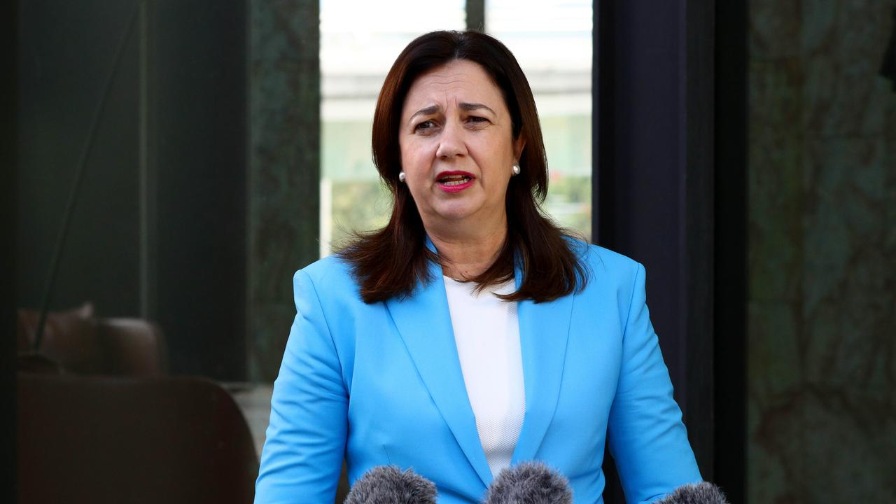 Queensland Premier Annastacia Palaszczuk will announce details of the taskforce. Picture: David Clark