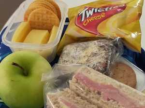 Photo sparks lunch box rule debate