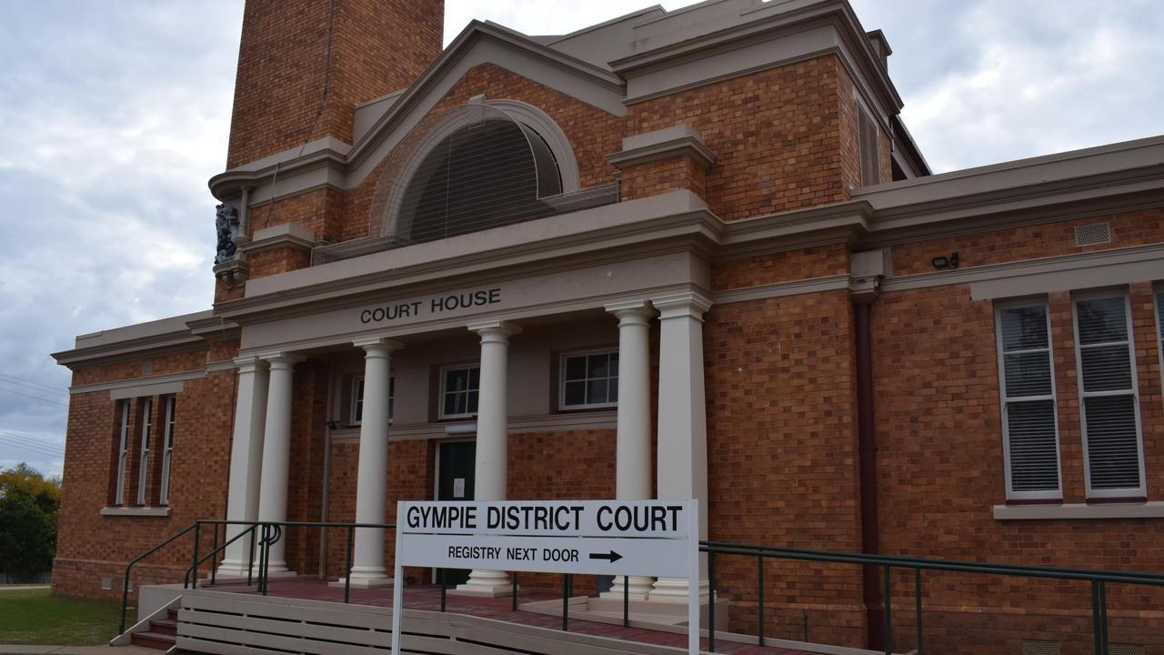 Gympie District Court, where sittings will be held for the next two weeks.