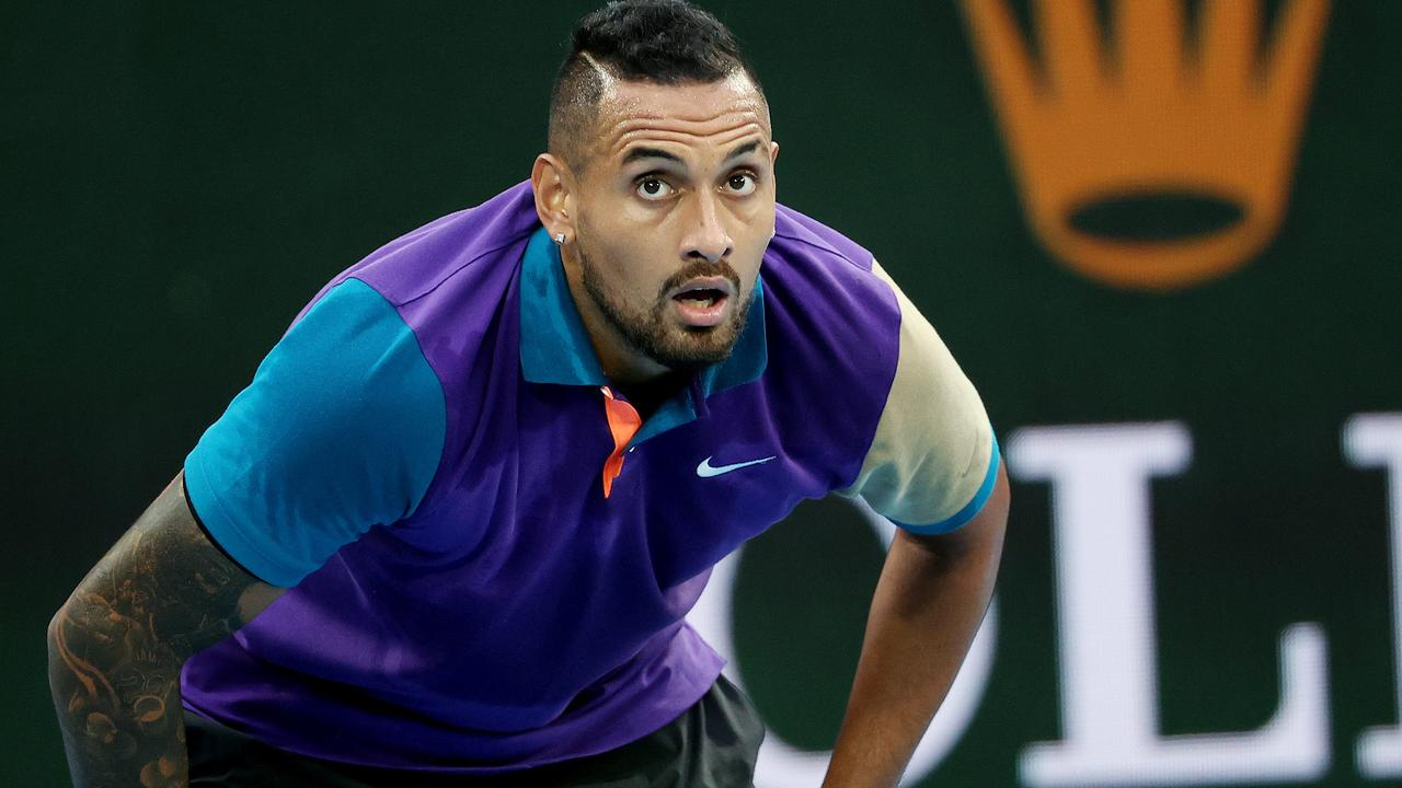 Kyrgios insists he is at peace with himself.