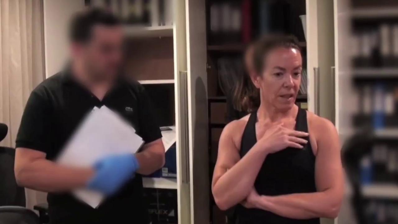 ASIC'S raid on Melissa Caddick. Picture: NSW Police
