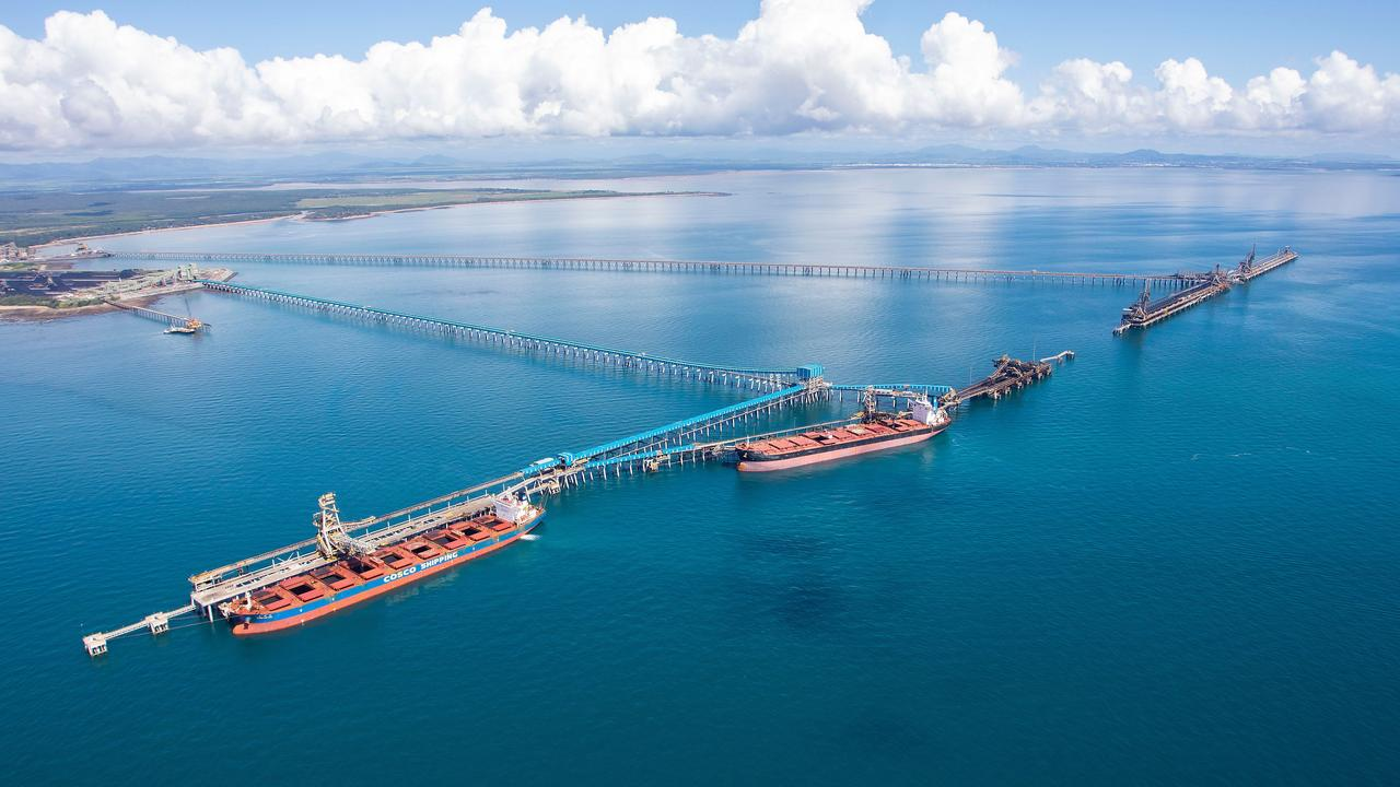 Aerial image of the Port of Hay Point. Picture: supplied