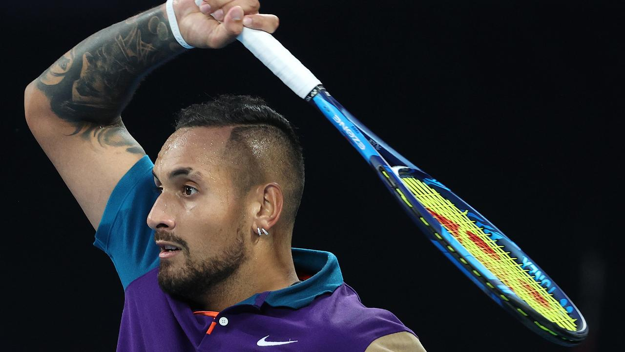Philosophical Nick Kyrgios increasingly comfortable with his lot in life