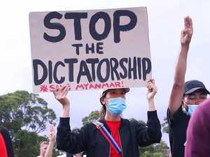 PHOTOS: Pro-democracy protests in Coffs