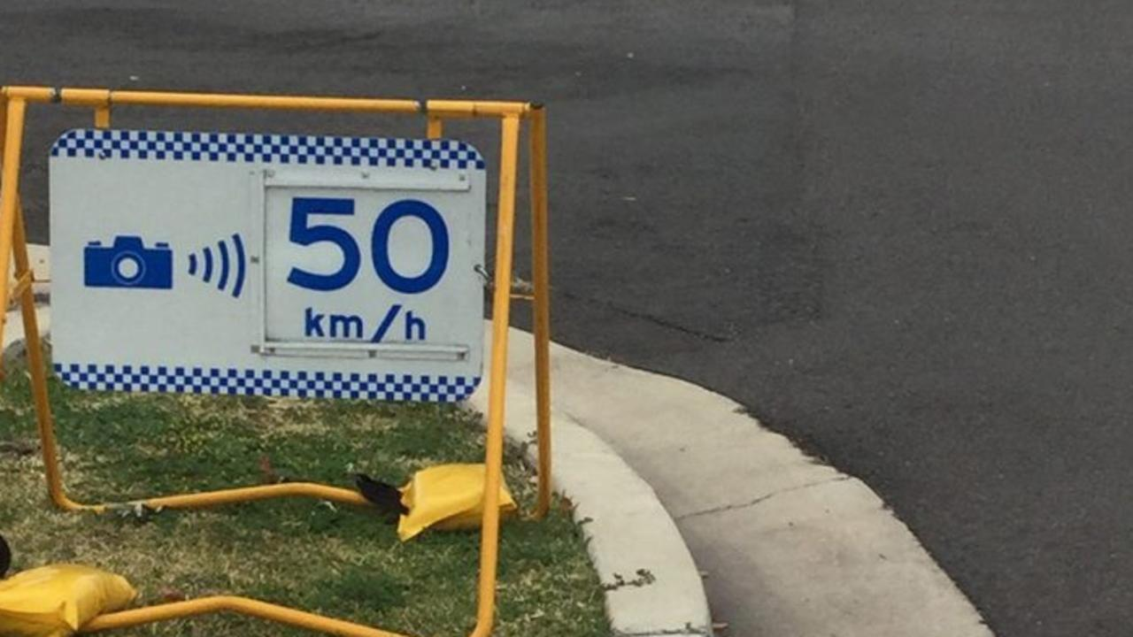 Mobile speed cameras no longer come with warning signs in NSW. Picture: Supplied