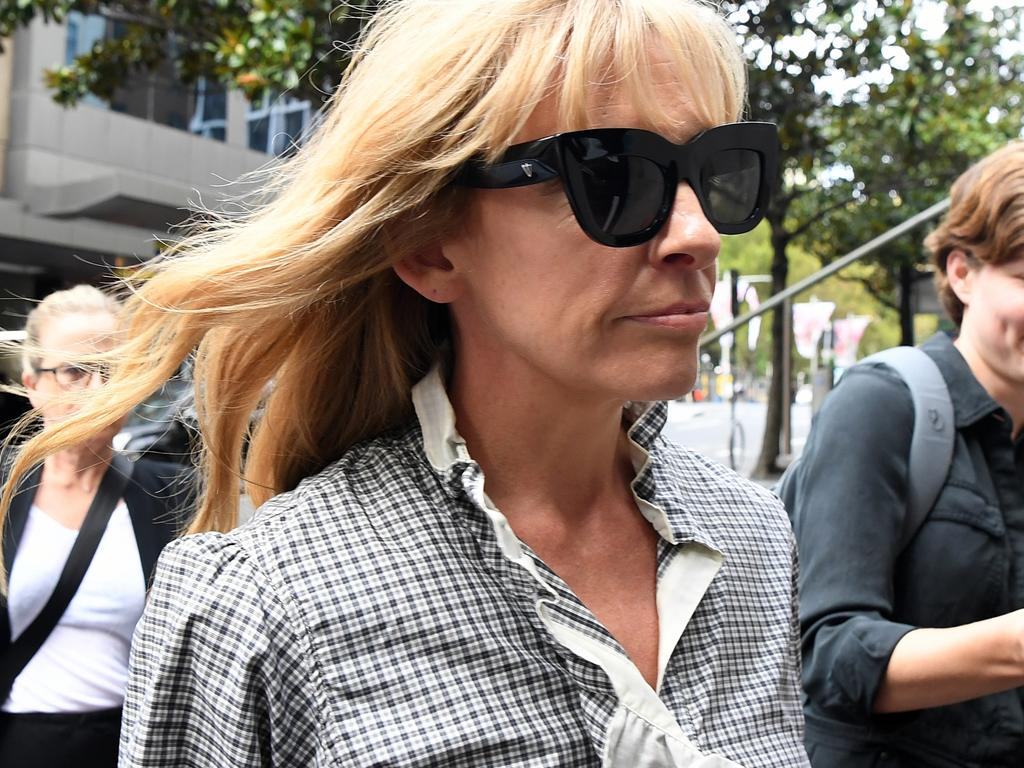 Toni Collette leaves the Downing Centre court in Sydney. Picture: NCA NewsWire/Joel Carrett