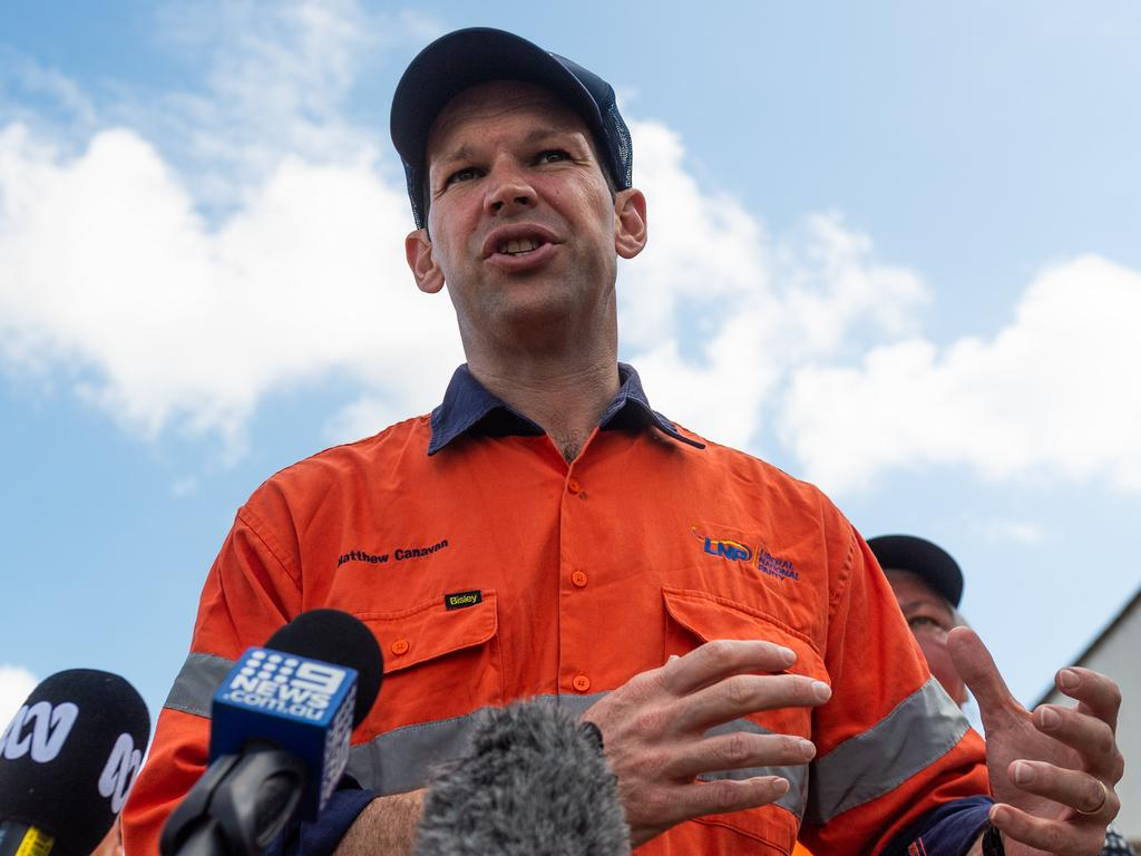 Matt Canavan has threatened to cross the floor over the proposal, even though the government does not need to legislate it. Picture: Che Chorley
