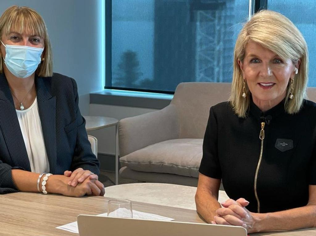 Former foreign affairs minister Julie Bishop has grown her hair. Picture: Instagram