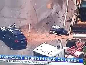 Woman dies following shocking truck vs car crash