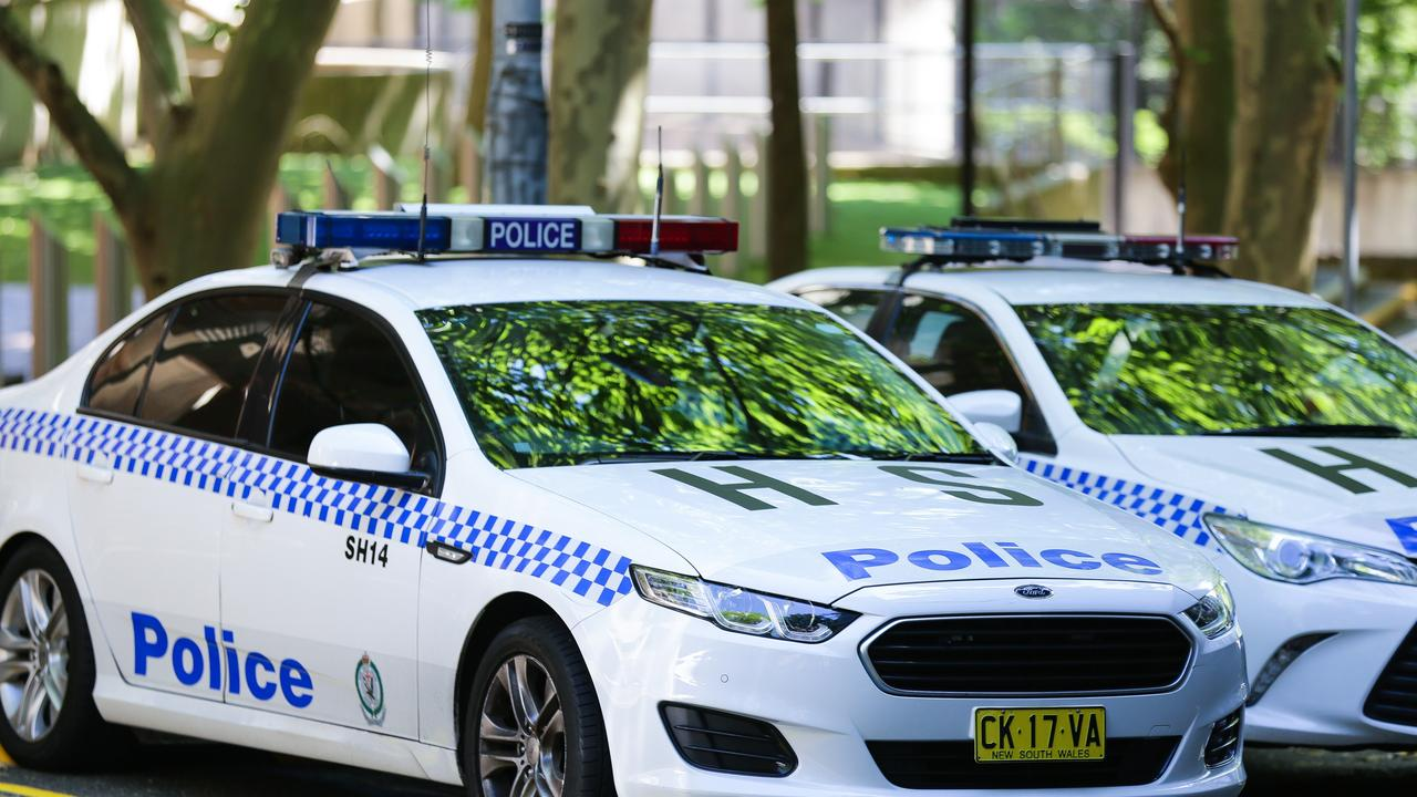 Police arrested a man at Claymore over the alleged online grooming of a girl. Picture: NCA Newswire / Gaye Gerard
