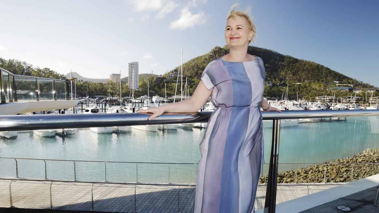 Great Barrier Reef Foundation chief executive Anna Marsden at Hamilton Island. Picture: Lachie Millard