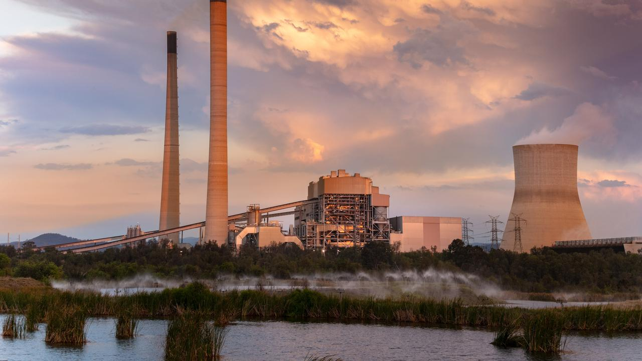 Callide Power Station at Biloela. The site employs 230 people producing 1510 megawatts.