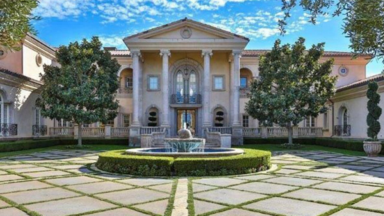 The lavish estate that Britney Spears is holed up in. Picture: Realtor