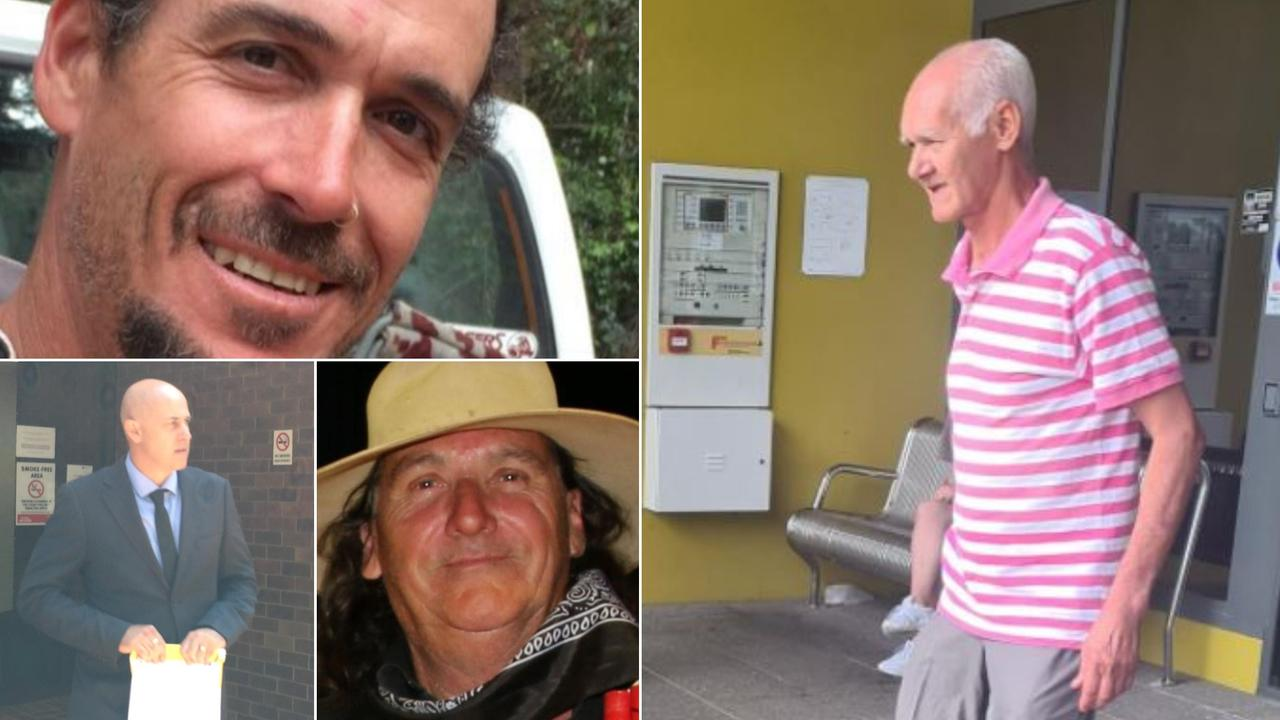 Arlo Hugh Hay, Vilmar Alves De Paula and Peter Matthews were sentenced for stalking charges while Wade Rogers pleaded guilty to observations or recordings in breach of privacy. Picture: Social media/ Laura Pettigrew/ Lucy Rutherford