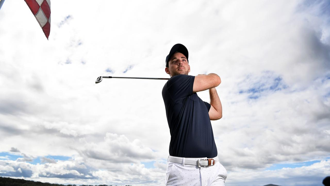 Pro golfer Charlie Dann. Picture: Patrick Woods