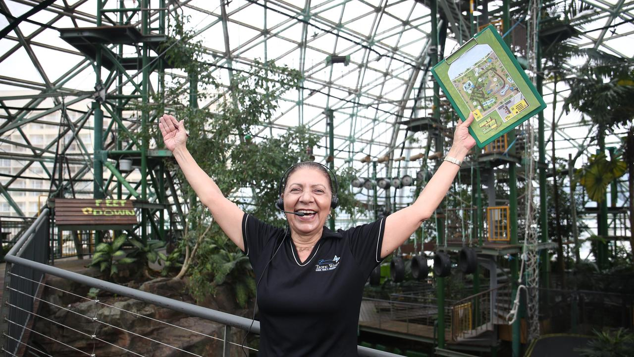 CaPTA employee Daphne Tin at Cairns ZOOM & Wildlife Dome, who are currently hiring additional staff. Picture: Brendan Radke