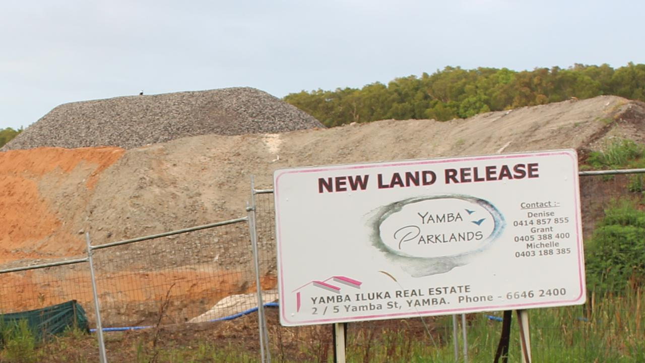 Development is underway for the Yamba Parklands Estate situated on Carrs Drive, West Yamba.