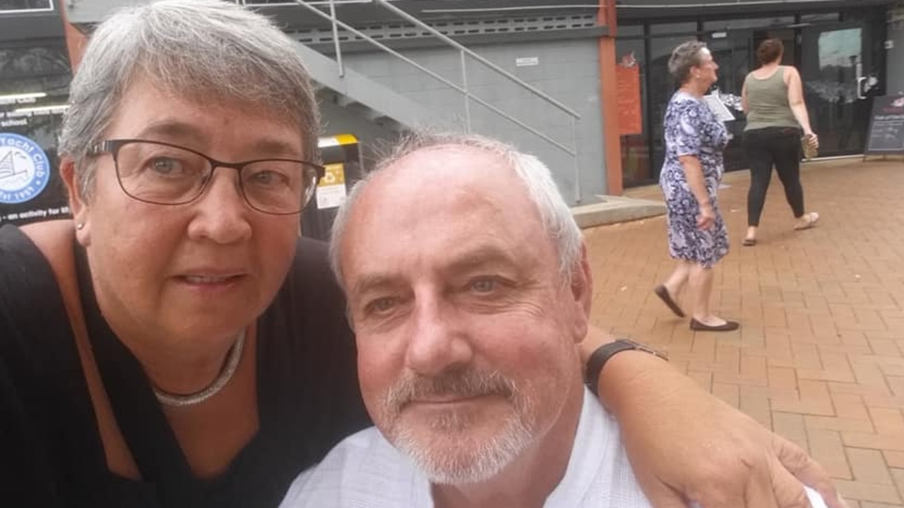 Lawrence Gordon Petersen, 63, and Edith van Dommelen, 68, have been fined for failing to comply with border directions.