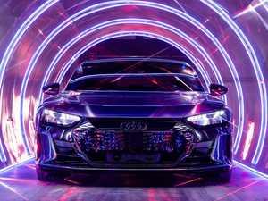Audi unveils stunning Tesla rival