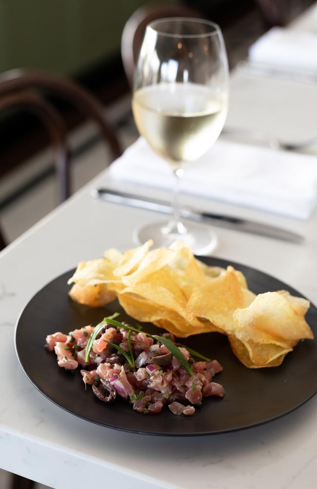 Tuna tartare at Market Bistro Maroochydore