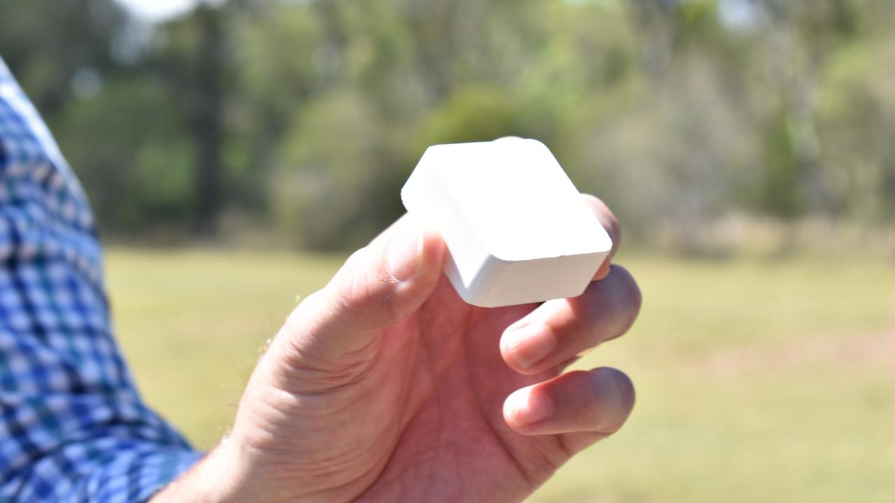 A high purity alumina ingot which will be produced at the site.
