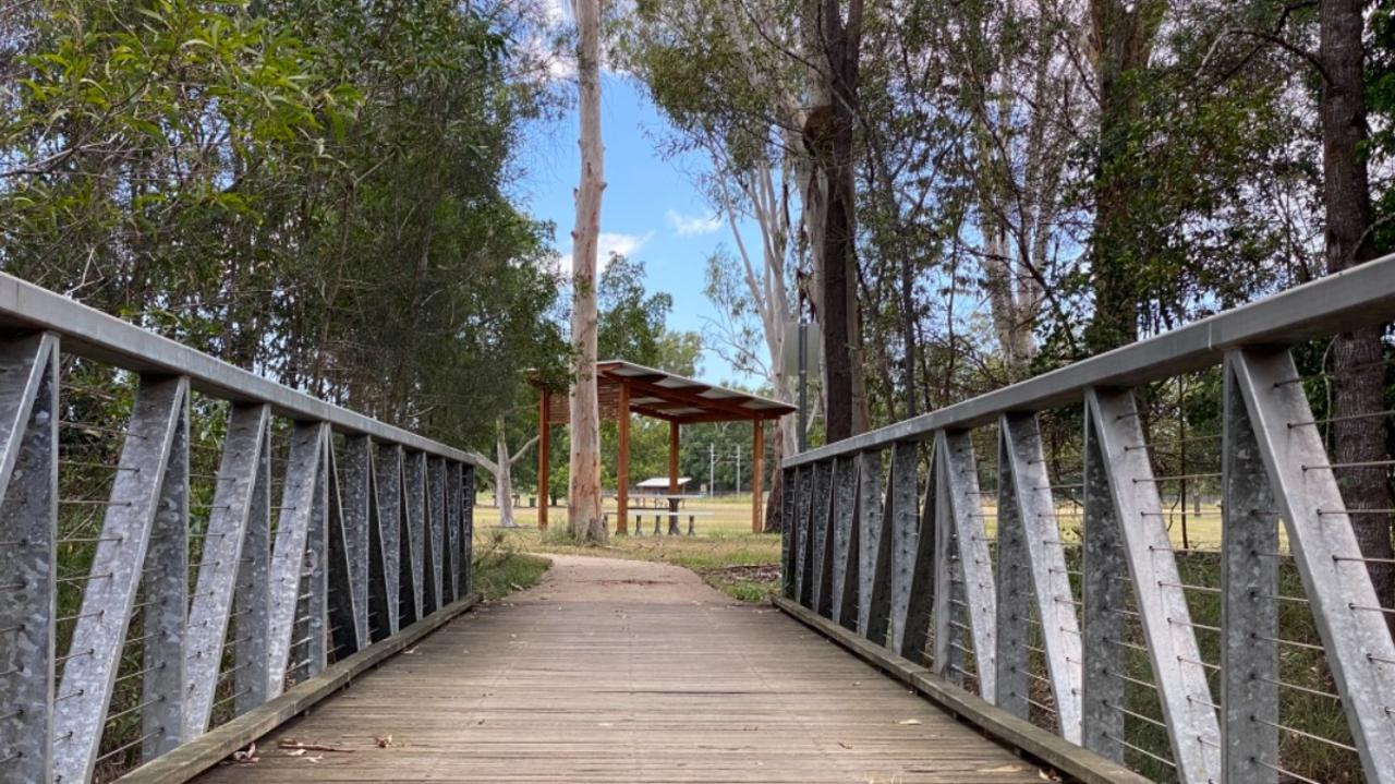 Residents are being asked to suggest names for the pedestrian bridge over Maria Creek in Howard.Â