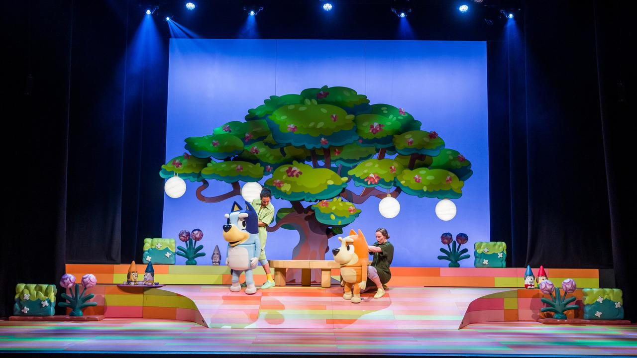 Blueys the Stage Show is coming to the Pilbeam Theatre.