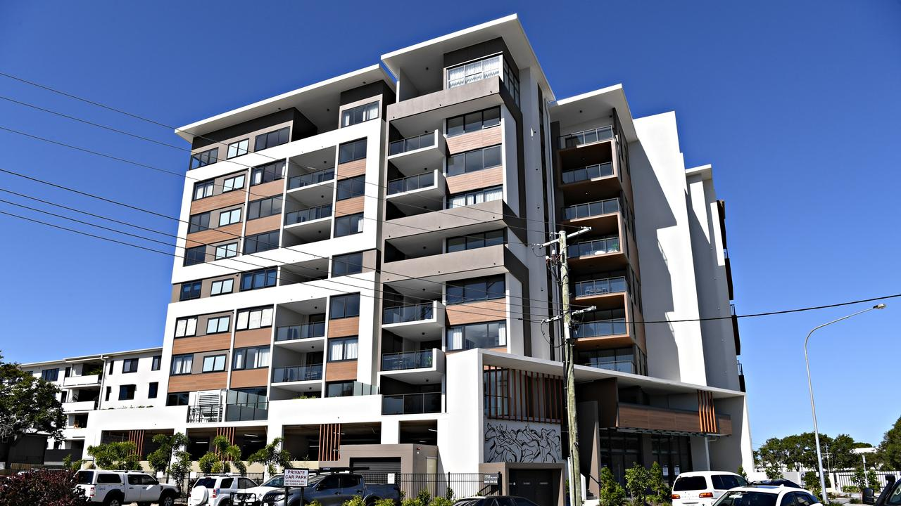 Some apartments in The Rhythm on Beach in Maroochydore have been used for short-term accommodation letting.