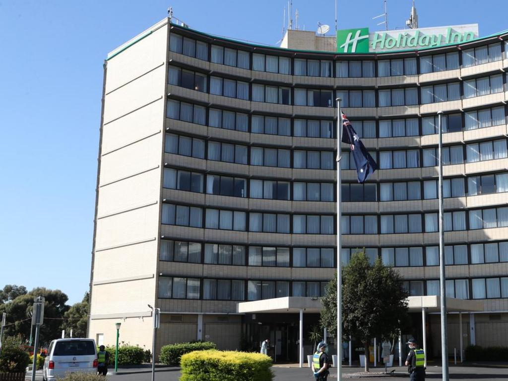 The Melbourne Holiday Inn is the state's latest Covid-19 epicentre.