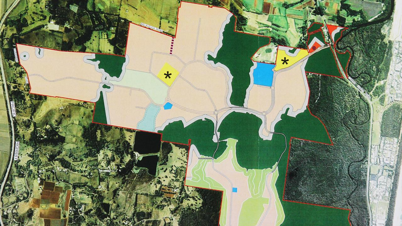 Plans for the Kings Forest development.