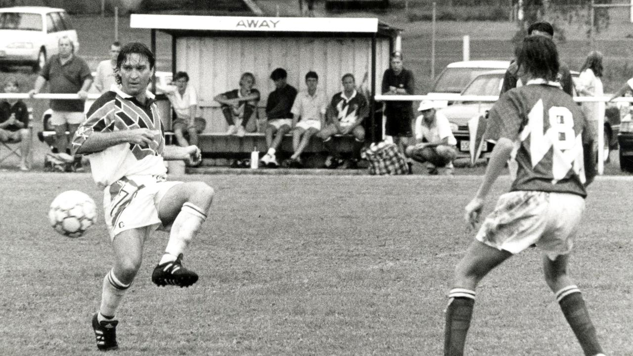Well-travelled coach and former Ipswich United/St Helen's defender Nev O'Sullivan. Picture: QT file
