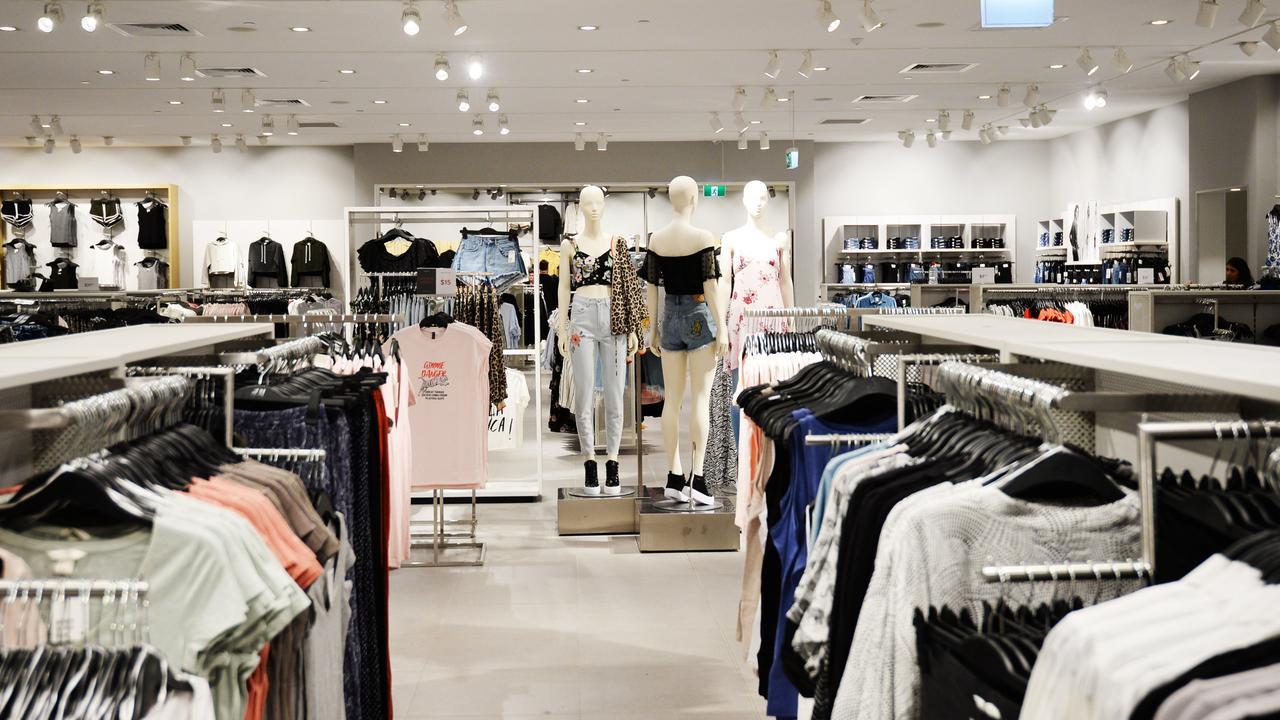 Rockhampton's H&M store.