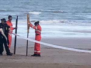 Man's body discovered at beach