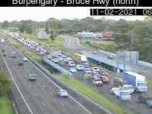 Crash causes major delays on Bruce Highway