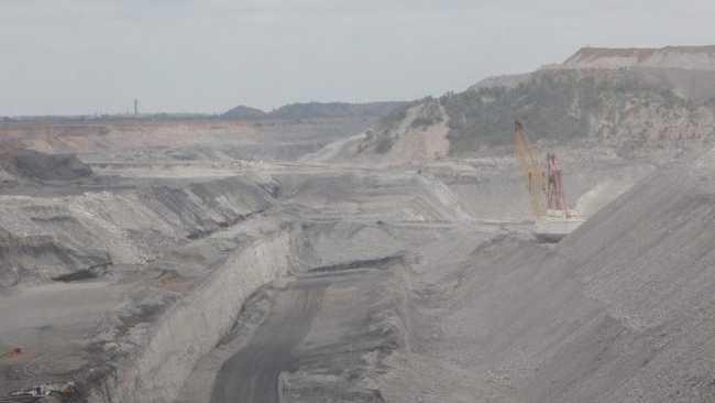 Rolleston coal mine.