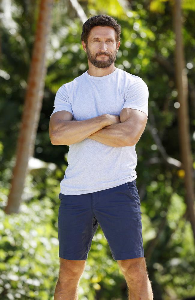 Australian Survivor host Jonathan LaPaglia. Picture: Channel 10.