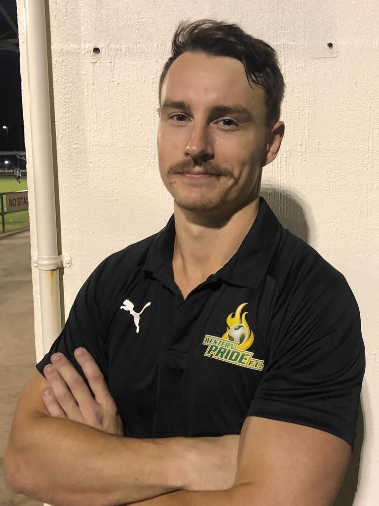 Western Pride's major signing, goalkeeper Jake Reesby.