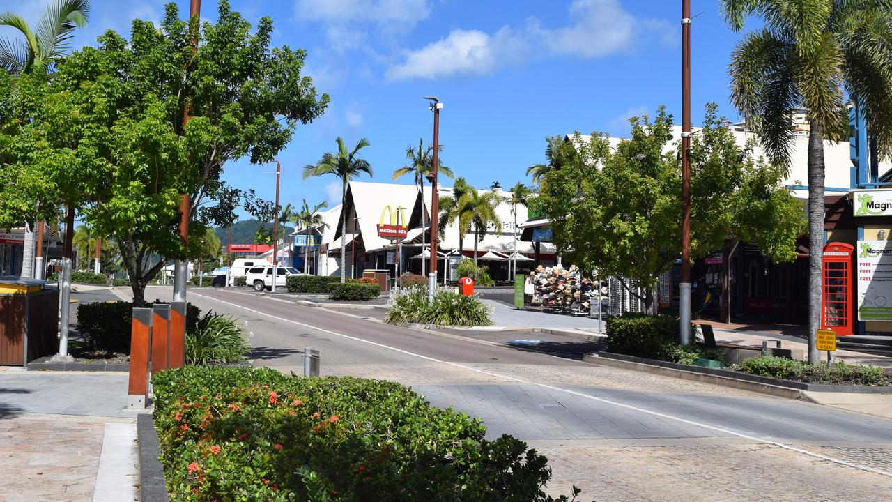 A man tackled his girlfriend into the ground in the Airlie Beach CBD. Photo: File