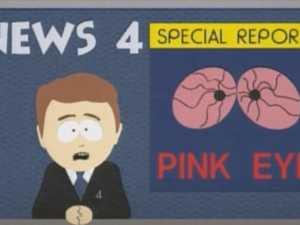 HERD IMMUNITY: Warning issued over pinkeye