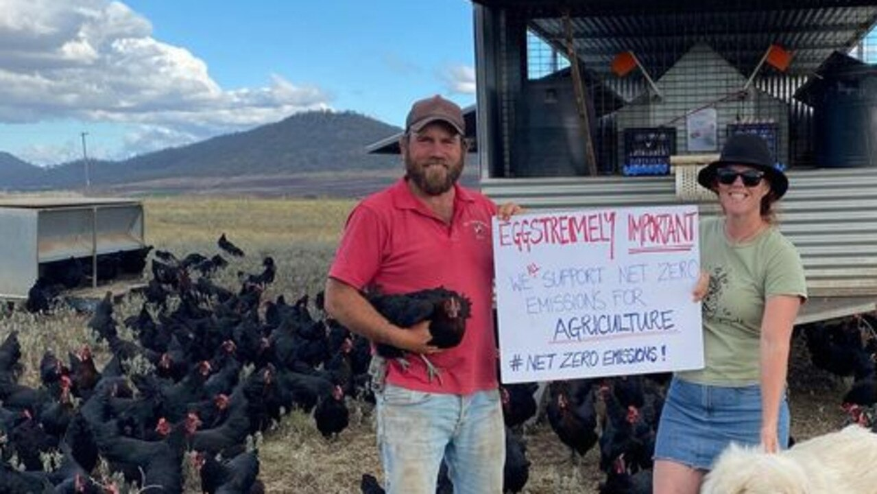 EGGSTREMELY IMPORTANT: Echo Valley Farms owners Randal and Juanita Breen speak up against Federal climate inaction.