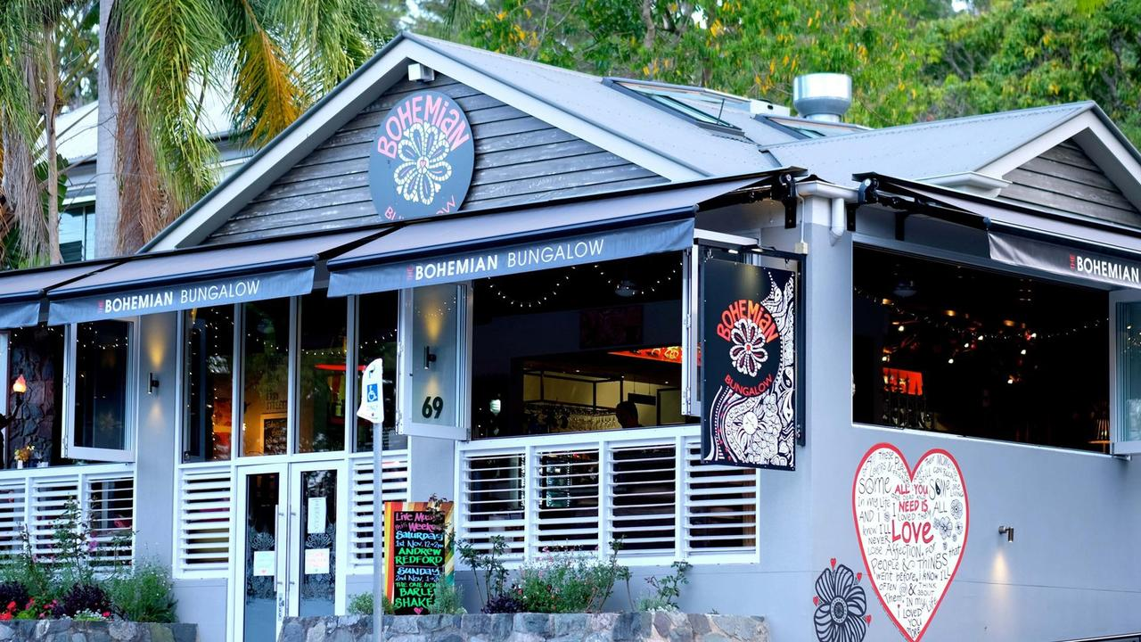 The much-loved Bohemian Bungalow site in Eumundi is seen as a lucrative buy at $1.75 million.