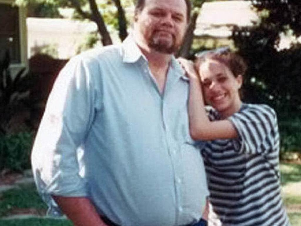 Meghan and her father Thomas in happier times. Picture: Thomas Markle: My Story