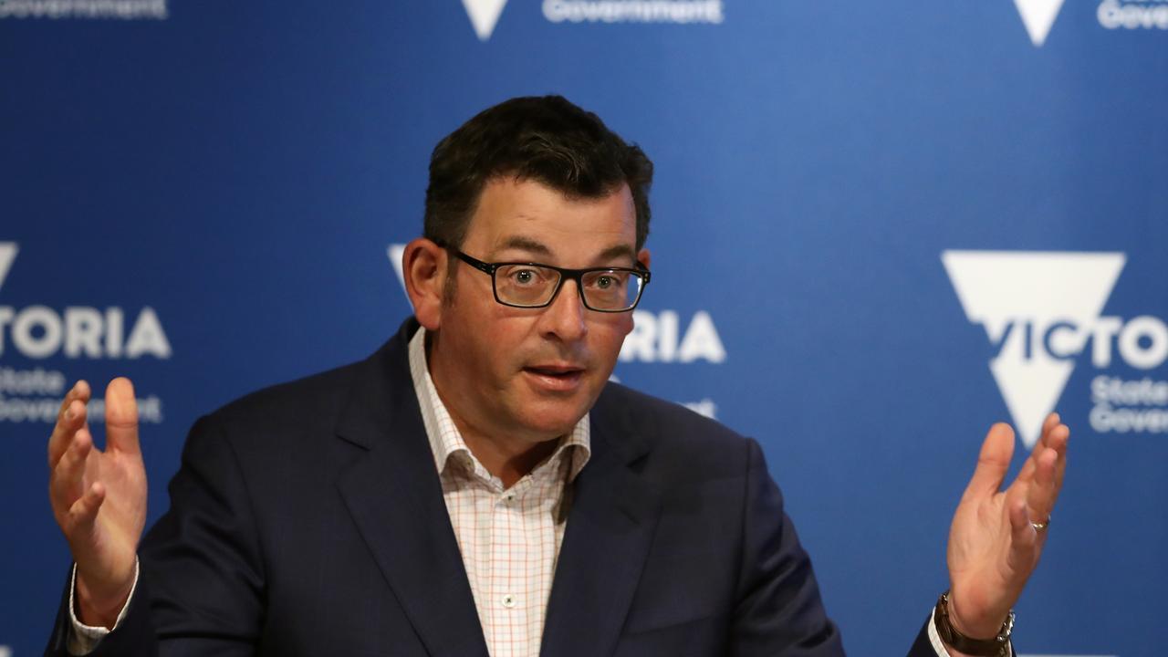"Victorian Premier Daniel Andrews described the sudden lockdown as a ""circuit breaker"". Picture: NCA NewsWire/ David Crosling"