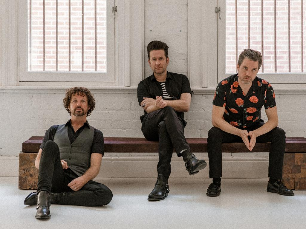 Eskimo Joe will return to Australia's live stages. Picture: Jarrad Seng