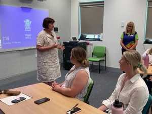 Julieanne Gilbert MP welcomes new graduates to South West Hospital and Health Service