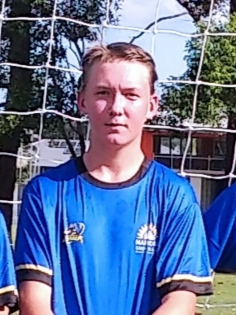 Nambour State College player Farley Jenkins